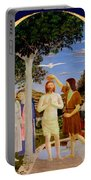Baptism Of Christ - Oil On Canvas Portable Battery Charger