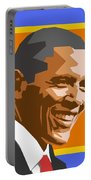 Barack Portable Battery Charger by Douglas Simonson