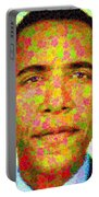 Barack Obama - Maple Leaves Portable Battery Charger