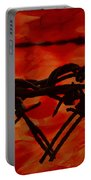Barbed Wire Love Series  Rage Portable Battery Charger