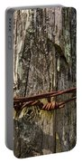 Barbed Wire Rustic Twist Portable Battery Charger