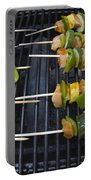 Barbeque Kabobs On Grill Portable Battery Charger