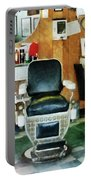 Barber - Barber Chair Front View Portable Battery Charger