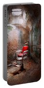 Barber - Eastern State Penitentiary - Remembering My Last Haircut  Portable Battery Charger