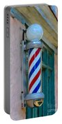 Barber Pole Portable Battery Charger