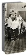 Barber Shop, 1920 Portable Battery Charger