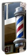 Barber Sign Portable Battery Charger