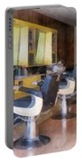 Barber - Small Town Barber Shop Portable Battery Charger