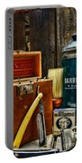 Barber - Vintage Barber Tools  Portable Battery Charger