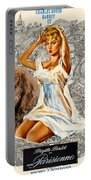 Barbet Art - Una Parisienne Movie Poster Portable Battery Charger