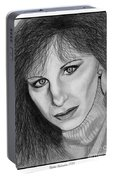 Barbra Streisand In 1983 Portable Battery Charger