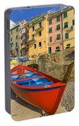 Barca Rossa A Rio Maggiore Portable Battery Charger