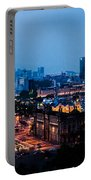 Barcelona At Night  Portable Battery Charger