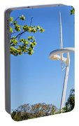 Barcelona Tv Tower/sun Dial Portable Battery Charger