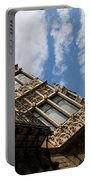 Barcelona's Marvelous Architecture - Avenue Diagonal Facade Portable Battery Charger