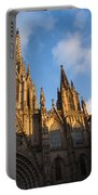 Barcelona's Marvelous Architecture - Cathedral Of The Holy Cross And Saint Eulalia Portable Battery Charger