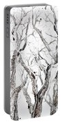 Bare Branches Print Option 2 Portable Battery Charger