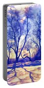 Bare Trees Portable Battery Charger