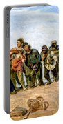 Barge Haulers On The Volga 1870-1873 Portable Battery Charger