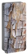 Bark On A Tree In The Desert In Sedona Portable Battery Charger