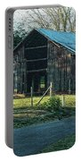 Barn 1 - Featured In Old Building And Ruins Group Portable Battery Charger