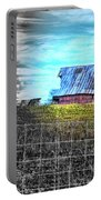 Barn 23 - Featured In Comfortable Art  And Artists Of Western Ny Groups Portable Battery Charger
