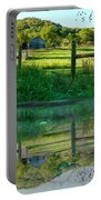 Barn And Fence Portable Battery Charger