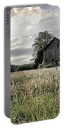 Barn And Grass Portable Battery Charger