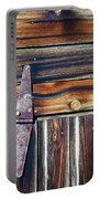Barn Door Portable Battery Charger by Wayne Sherriff