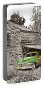 Barn Finds Classic Cars Portable Battery Charger by Jack Pumphrey