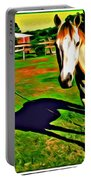 Barn Horse Portable Battery Charger