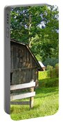 Barn In Balsam Grove Portable Battery Charger