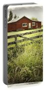 Barn In Field Portable Battery Charger