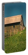 Barn In Newel South Dakota Portable Battery Charger