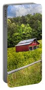 Barn In The Meadow Portable Battery Charger