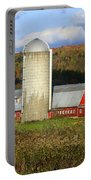 Barn On The River Rd. Portable Battery Charger