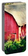 Barn Red Sunset Portable Battery Charger