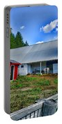 Barn - The Old Horse Portable Battery Charger