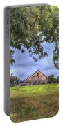Barn Under A Tree. Portable Battery Charger