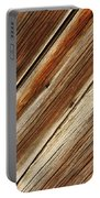 Barn Wood Detail Portable Battery Charger