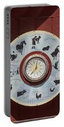 Barn Yard Clock Portable Battery Charger
