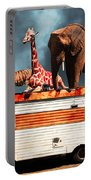 Barnum And Bailey Goes On A Road Trip 5d22705 Portable Battery Charger