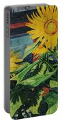 Barnyard Sunflowers Portable Battery Charger