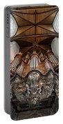 Baroque Grand Organ In Oude Kerk Portable Battery Charger