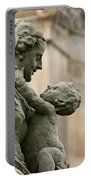 Baroque Statue Depicting Motherhood Portable Battery Charger