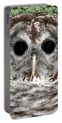 Barred Owl 1 Portable Battery Charger