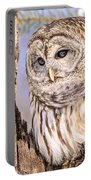 Barred Owl Watch Portable Battery Charger