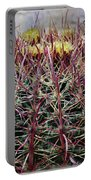 Barrel Cactus Desert Blooms Portable Battery Charger