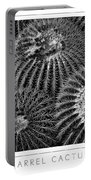 Barrel Cactus Poster Portable Battery Charger