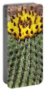 Barrel Cactus With Yellow Fruit Portable Battery Charger